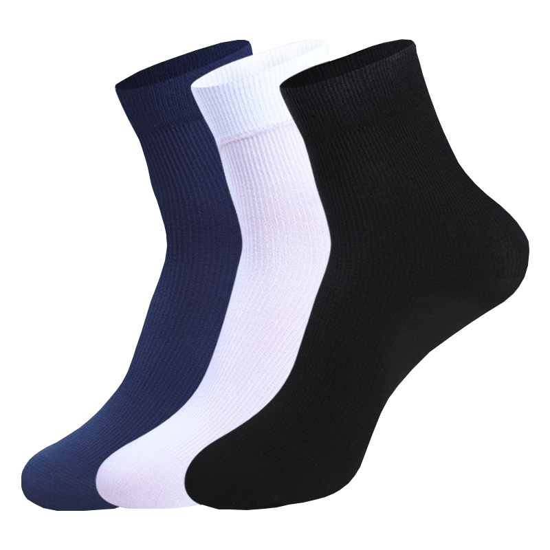 New 10 Pairs Bamboo fiber Men Stockings Summer Ultra-thin Stretch silk Short Stockings Men Fashion casual Work   Socks