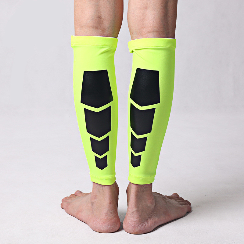 1 Pair Basketball Knee Pads Breathable Football Volleyball Sport Safety Calf Leg Compression Sleeves Training Protectors
