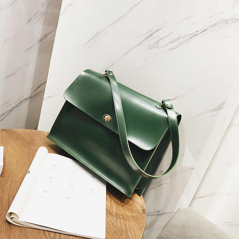 NiYoung Fashion Classic PU Leather Top-Handle Tote Bag Large Capacity Casual Ladies Shoulder Bags Lightweight Durable Large Purse Tote Carrying Bag Avocado Repeating Pattern White