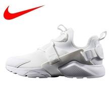 brand new e0c32 b6f06 Nike Air Huarache City Low hombres y mujeres zapatos para correr, blanco,  absorción de golpes transpirable antideslizante resist.