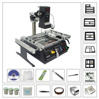 New Full Set LY IR6500 BGA Rework Station with 80MM/90MM Game Console Steel Mesh Kit Pack Laptop Motherboard Repair Tool