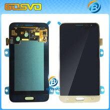 100% испытанное Черный/белый/золото ЖК-Дисплей С Сенсорным Экраном дигитайзер Ассамблеи Для Samsung для Galaxy J3 J320P J320M J320Y J320F(China (Mainland))