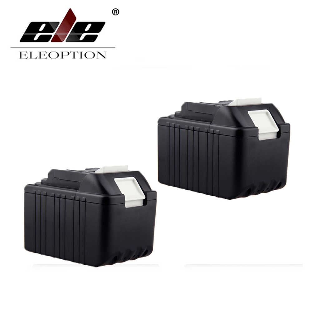 2PCS 4000mAh New Rechargeable Li-Ion Replacement Power Tool Battery for Makita 18V BL1830 BL1840 LXT400 BL1815 194230-4 194205-3 bl1830 tool accessory electric drill li ion battery 18v 3000mah for makita 194205 3 194309 1 lxt400 18v 3 0ah power tool parts