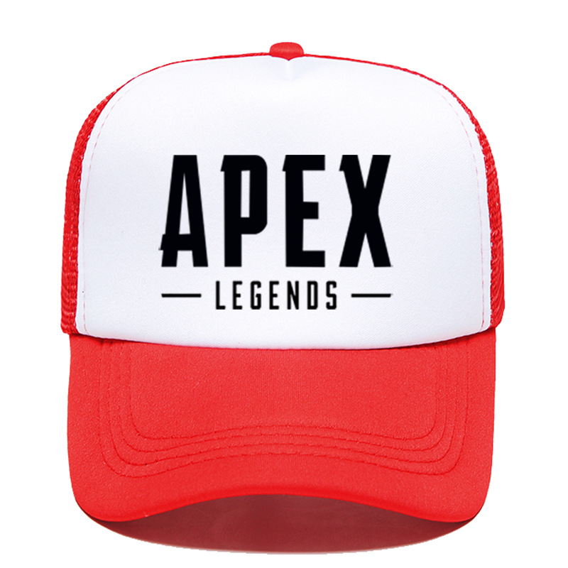 100pcs/lot Baseball Cap Game Print Black Cotton High Quality Cool Adjustable Hat Unisex Hip hop Caps Apex Legends 2