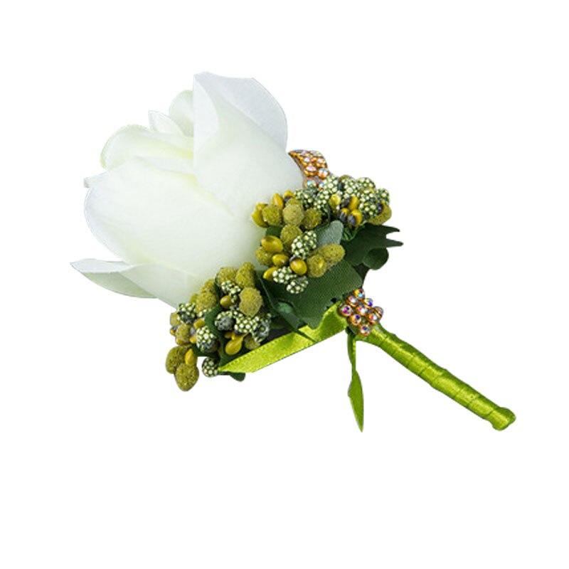 Spiaggia tema di nozze 30 pz bianco della Sedia del Organza Fiocchi e Fasce con il bianco Champagne fiore di rosa per la Cerimonia Nuziale Del Partito Banchetto della Sedia Decorazione - 5