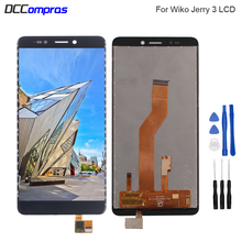 For Wiko Jerry 3 LCD Display Touch Screen Digitizer Replacement Phone Parts For Wiko Jerry 3 Screen LCD Display With Free Tools цена