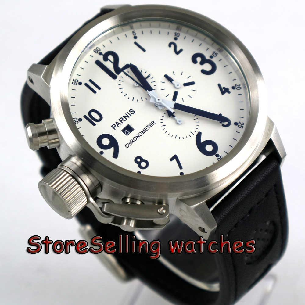 Часы кварцевые мужские белоснежные фото