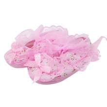 2019 New Lace Bow Baby Girl Princess Shoes Toddler Girl Cute