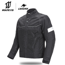 LYSCHY Motorcycle Jacket Motorbike Riding Jacket Breathable Motorcycle Full Body Protective Gear Moto Cross Summer Moto Clothing lyschy motorcycle jacket motorbike riding jacket pant waterproof motorcycle full body protective gear armor winter moto clothing