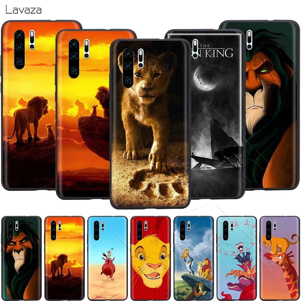 Lavaza filme dos desenhos animados leão rei caso para huawei companheiro y7 y9 p8 p9 p10 p20 p30 lite pro p inteligente mini 2017 2019