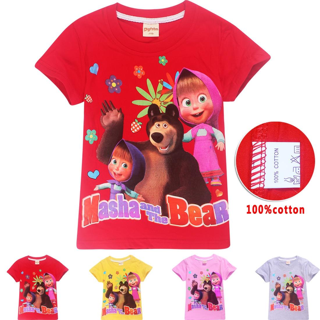 roblox cotton Russia T-shirt Bear Shirts Tshirt Clothes Tees Tops Men T shirt 2018 boys clothes girl dress baby girl clothes