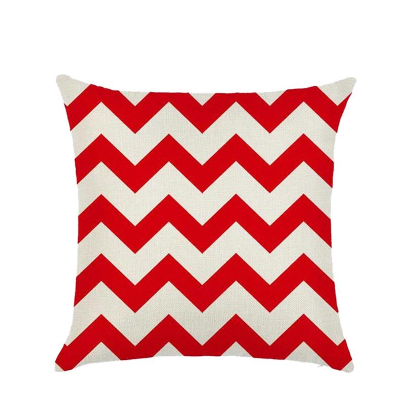Stripe Pillows Decorative Pillow Case Geometric Sofa Car