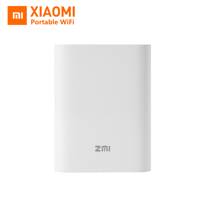 Original New Xiaomi ZMI MF855 7800MAH mifi 3G 4G Router Wireless Wifi repeater With Mobile Power Bank 3.6V/7800mAh Micro USB