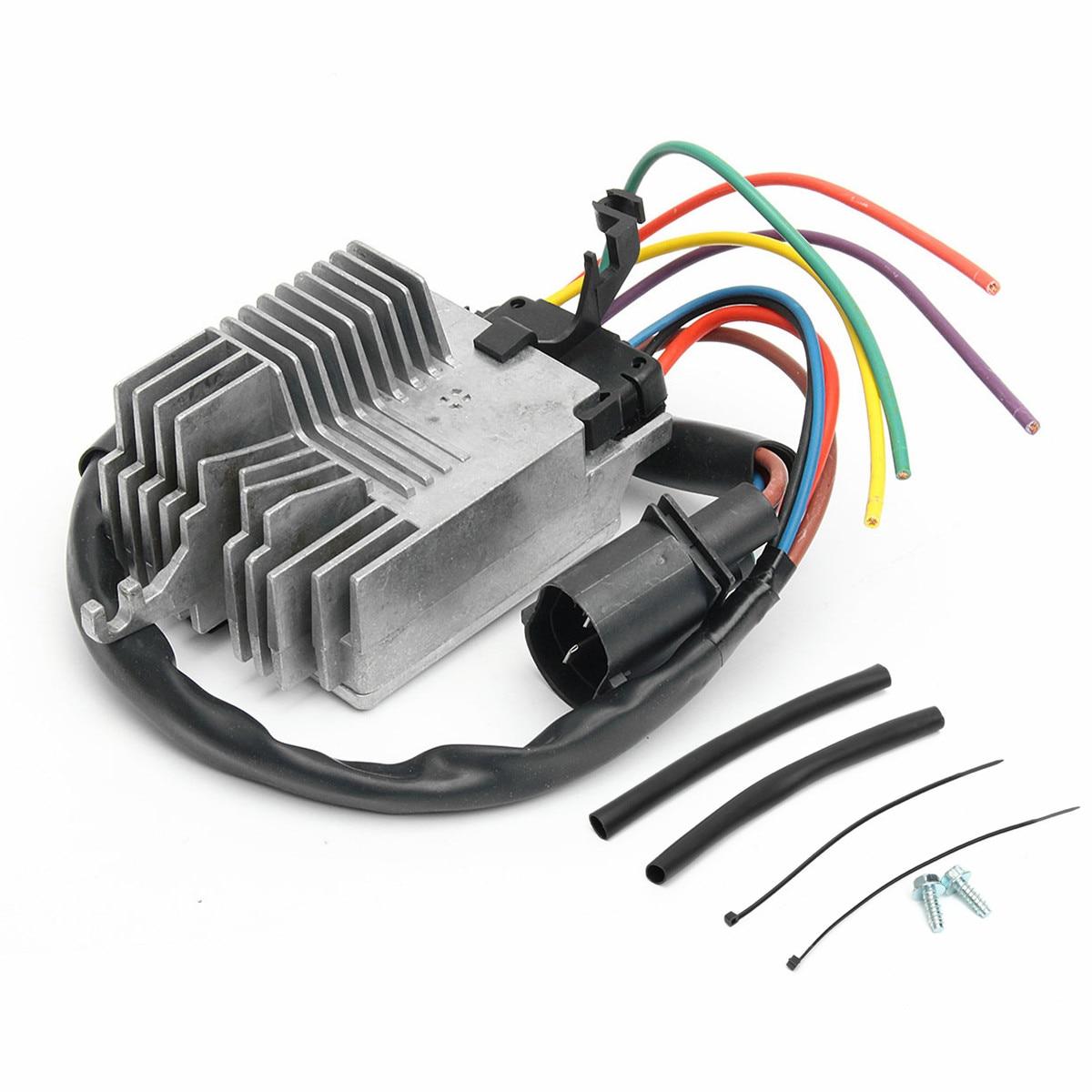 Module de commande de ventilateur de refroidissement de radiateur de voiture pour Audi A4/A4 Quattro 02-09 8E0959501AG plastique et acier