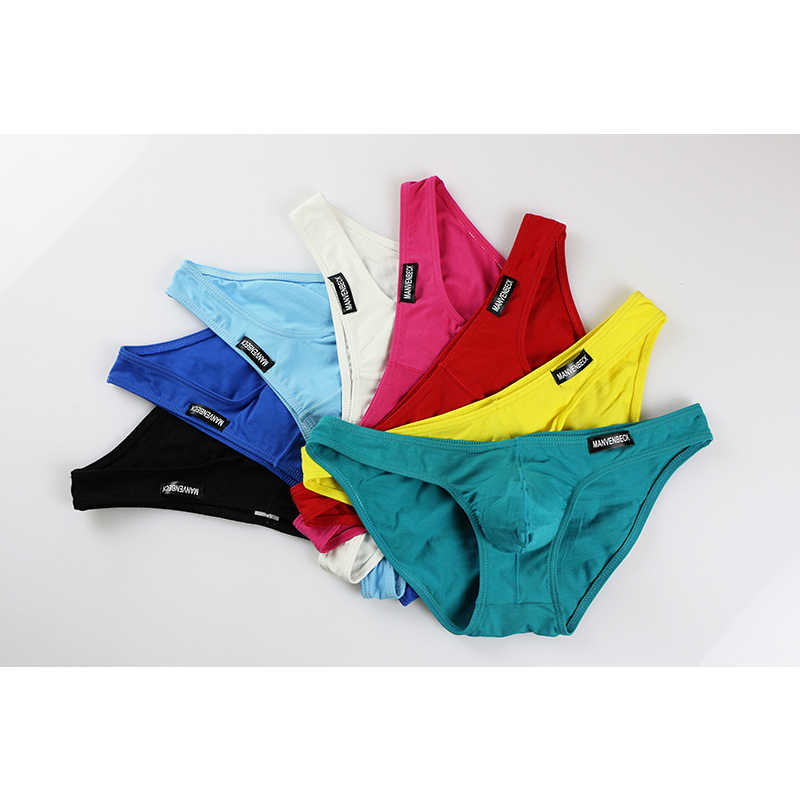 Men/'s Bamboo Fiber Boxers Briefs Underwear Breathable Thong Multi Colours