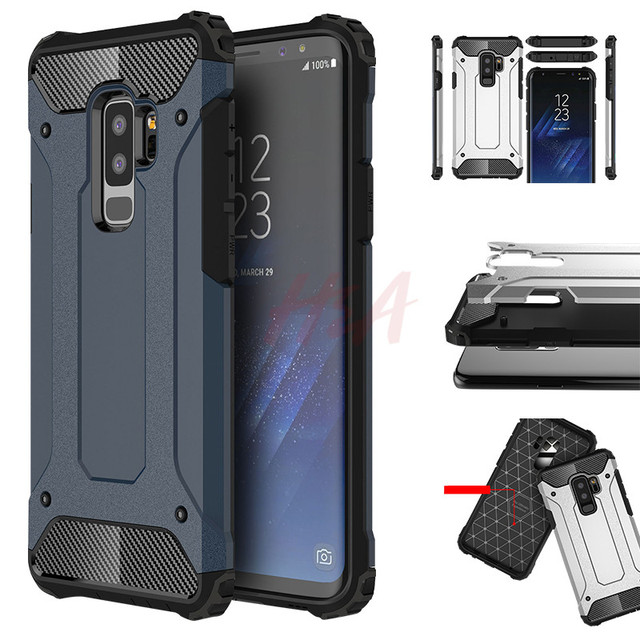 Rubber Armor Case For Samsung Galaxy S8 S9 S10 Plus S7 Edge S5 S6 Note 5 8 9 A6 A7 A8 J8 J4 J6 Prime 2018 S10E Shockproof Cover