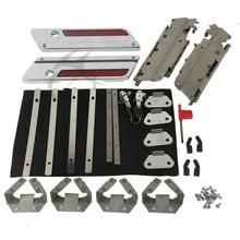 Hard Bag Saddlebag Hardware Latch Hinge Lock Kit For Harley Road King Electra Glide 1993-2013 цена