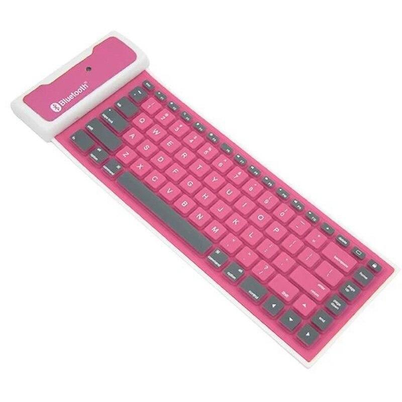 8 Bluetooth Sillicon Keyboard