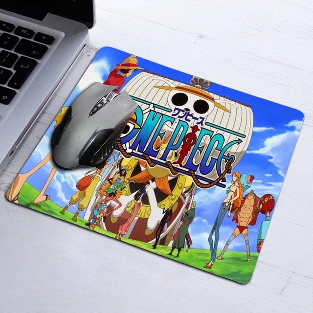 Rubber Mousepad Anime One Piece Anti-slip Computer Mouse Pad Custom Mat