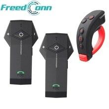 1 шт. Дистанционное управление только + 2 шт. мотоциклетный шлем bluetooth гарнитура устройства с fm и мягкой Mic для интегрального шлем