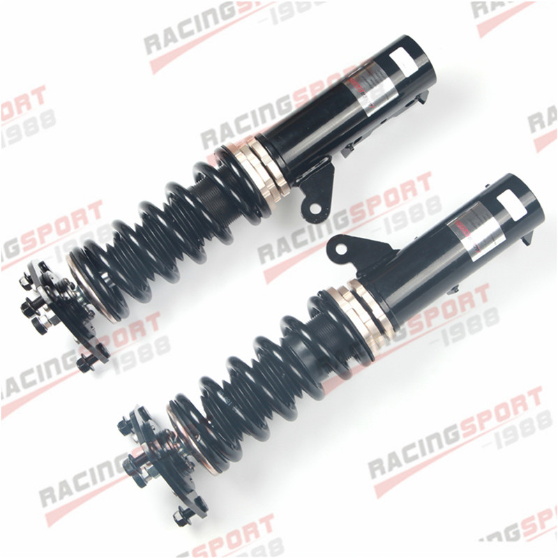 32 Step Mono Tube Coilovers Lowering Suspension Kit For Mitsubishi Lancer 08 17 in Shock Absorber Struts from Automobiles Motorcycles