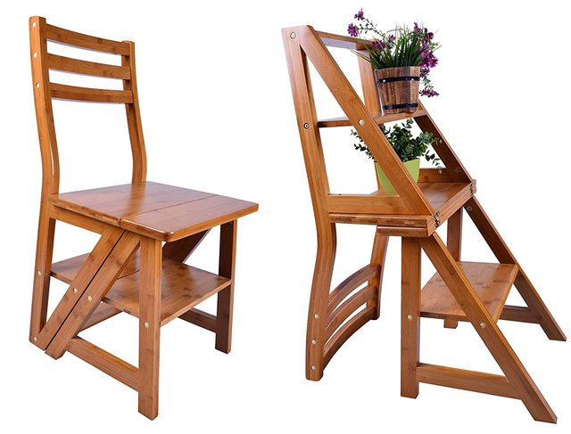 Chair That Turns Into A Step Stool Arnhistoria Com