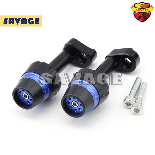New Design Motorcycle Frame Sliders Crash Protector Falling Protection For YAMAHA YZF-R25 YZF-R3 14-15 Blue