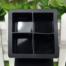 1 шт многоразовый кубик прессформы льда Форма льда квадратная силиконовая форма льда Полезная четырехрешетчатая форма льда Бар кухонные аксессуары
