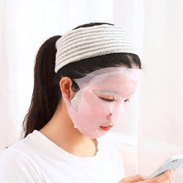 Nouvelle Arrivée Silicone Visage masque Couverture Prévenir Masque Essence L'évaporation Le Rythme D'absorption Hydratant Visage Masque Couverture