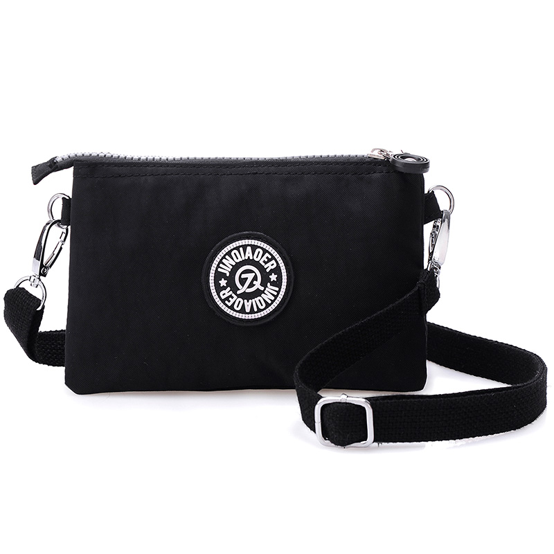 Women Messenger Bags Nylon Female Coin Purse Zipper Mobile Phone Crossbody Bag Shoulder Wallet Clutch Handbag Wristlets