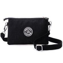 Для женщин курьерские Сумки нейлон Женский кошелек для монет на молнии мобильного телефона сумка через плечо бумажник клатч сумочка