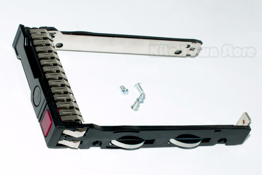 New 651687-001 2.5 Inch SAS SATA Hard Disk Drive Tray Caddy Sled ProLiant For HP Gen8 G8 G9 DL380 ML310e SL250s new high quality bracket tray caddy dustproof dust prevention for hp microserver gen8