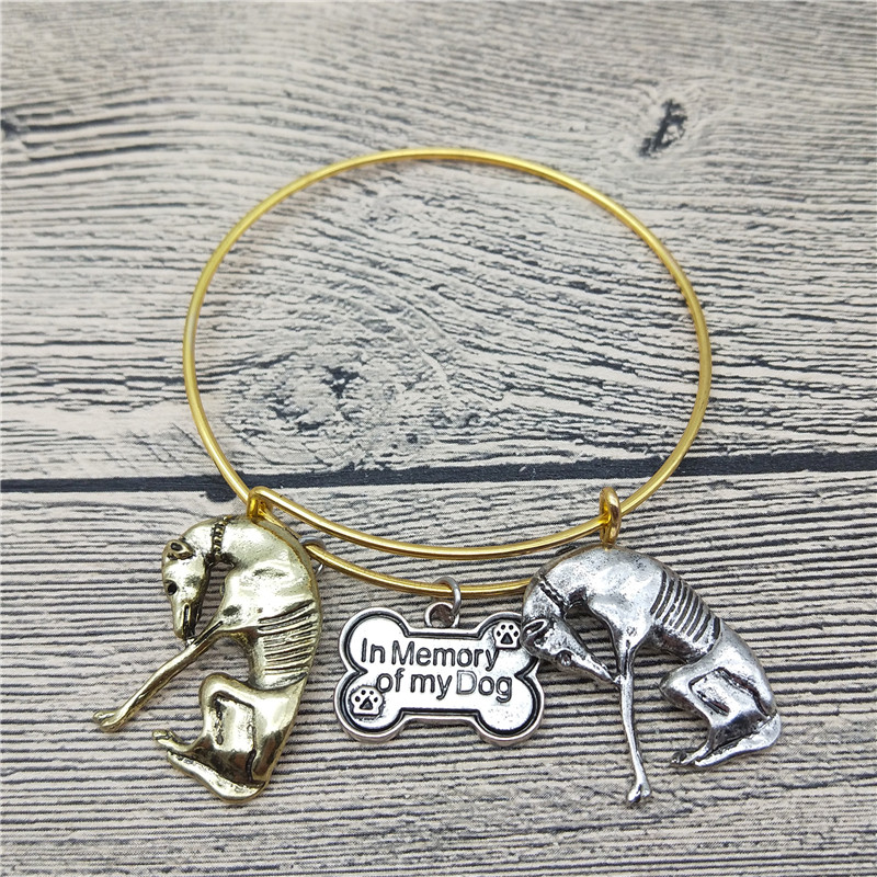 Trendy New Italian Greyhound Bangles Cute Italian Greyhound Dog Bangles Bracelets Fashio ...