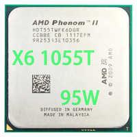 AMD Phenom II X6 1055T CPU Processore Six-Core (2.8 Ghz/6 M/95 W) presa AM3 AM2 + 938 pin