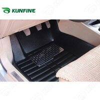 3D car floor mat for FORD FIESTA/FOCUS/MONDEO/ESCORT foot mat car foot pad 3 colors Left hand driver drop shipping