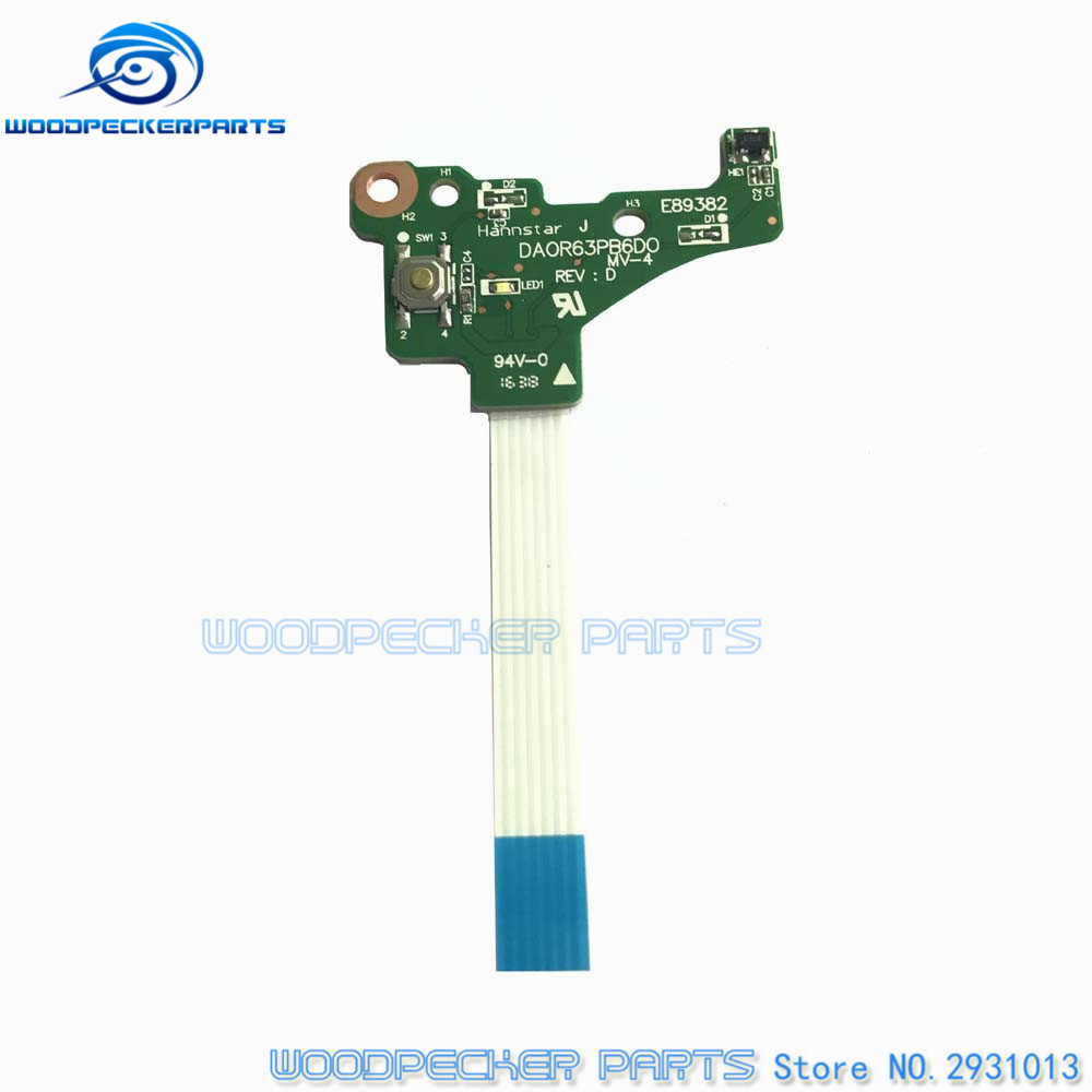 Computer Cables & Connectors Amicable Free Shipping Original For Hp 17-e Series Power Switch On/off Daor63pb6d0 720673-001 To Have A Unique National Style