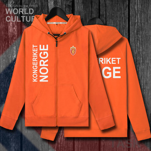 Image 5 - Norway Norge NOR Norwegian Nordmann NO mens fleeces hoodies winter jerseys coat men jackets and clothes nation country cardigan
