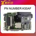 K40AB материнской платы ноутбука для Asus K50AF X8AAF X5DAF Mainboard DDR2 Полный Испытано