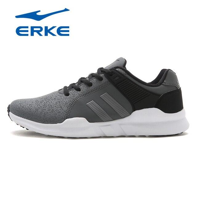 Ерке горячая Распродажа спортивные прогулочная обувь для мужчин 2017 городской бег обувь фирменные спортивные кроссовки производство обуви