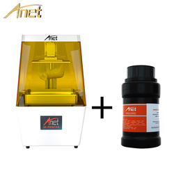 2019 Anet N4 LCD 3D Printer High Precision 40um with 3.5inch LCD Screen Off-Line Print Impresora 3d Drucker Impressora UV Resin