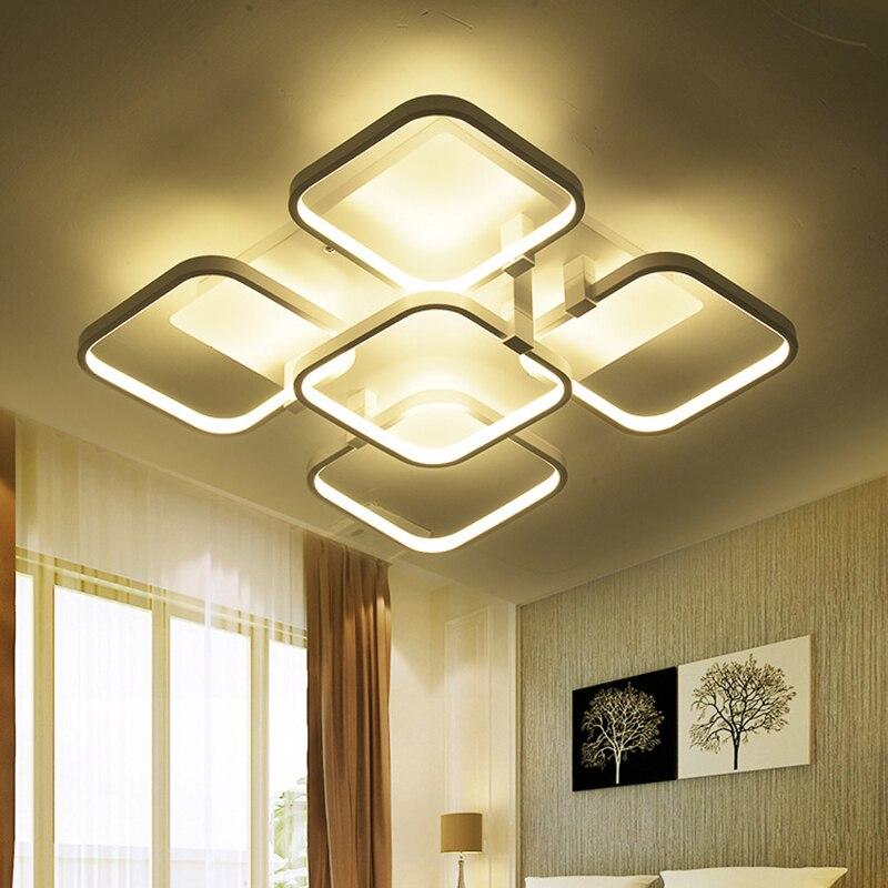 Fernbedienung Deckenleuchten Schlafzimmer Luminarias De Teto Dimmen Led  Licht Wohnzimmer Deckenleuchte Moderne Plafond Beleuchtung In Fernbedienung Good Ideas