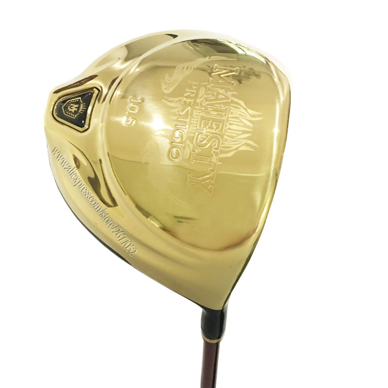 New Golf Clubs Maruman Majesty Prestigio 9 Golf Driver 9.5 Loft Graphite Golf shaft Right Handed Driver Free shipping Cooyute-in Golf Clubs from Sports & Entertainment