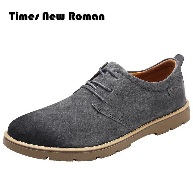 Suede en cuir pour homme chaud Chaussures Richelieux Mode Chaussures en cuir DALu5DCEOv