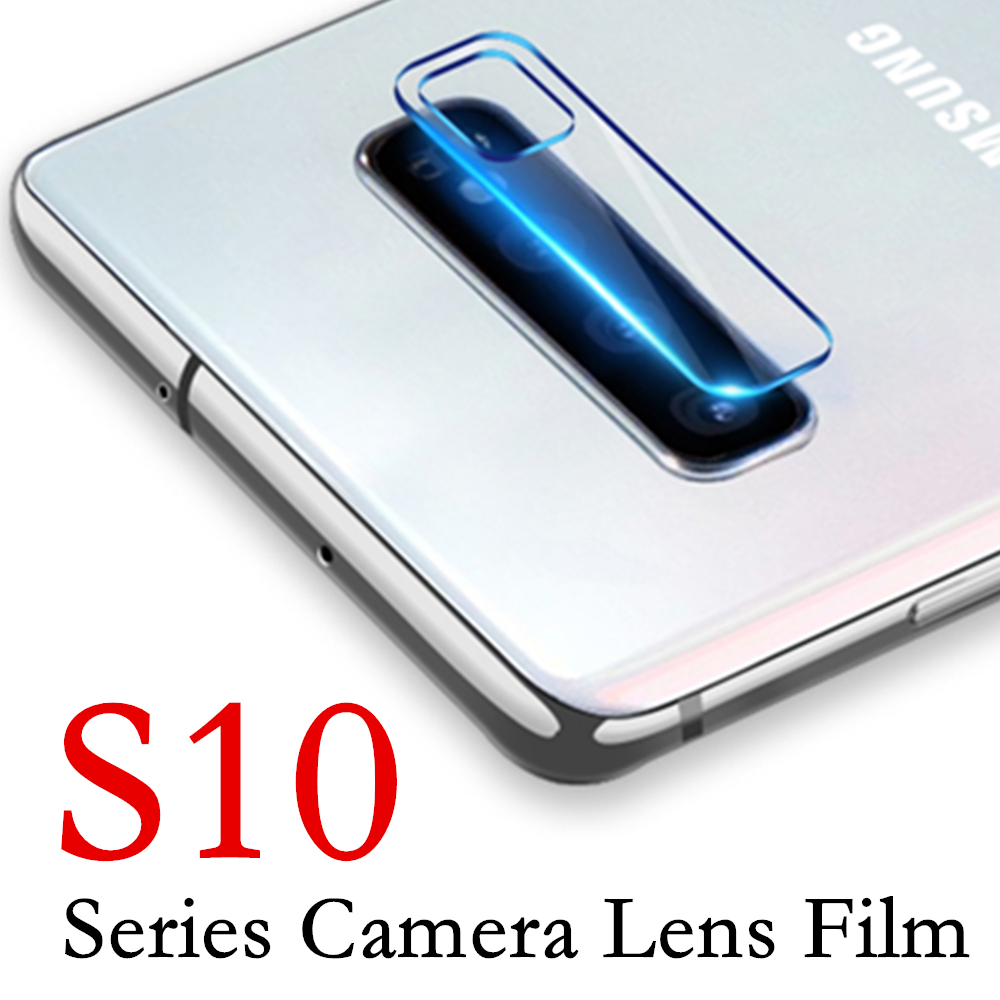 S10 Lens Glass On For Samsung Galaxy S 10 E Plus Camera Glass Protective 10s 10e 10plus Screen Protector Tempered Galaxi Safety