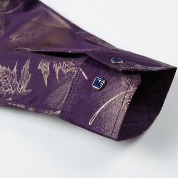 2020 New Social Long Sleeve Maple Leaf Designer Shirts   4