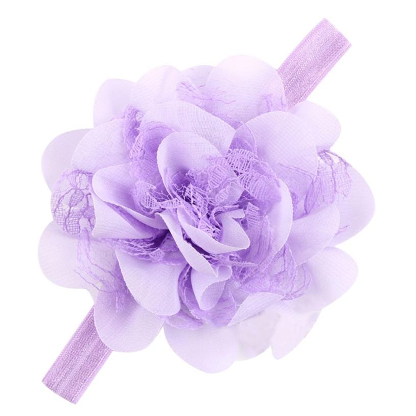New Christmas Gifts Baby Flower Headband Hair Bowknot Headbands Infant Hair Accessoris Girls Bow Headband Toddler hair bands