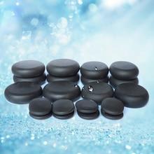Tontin Hot massage basalt stone Beauty Salon SPA tool with 110V & 220V heater bag CE and ROHS 20pcs/set