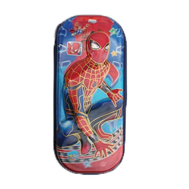 5D Spiderman pencil case for boys& girls cartoon children school supplies stationery set kids pencil bag red high quality