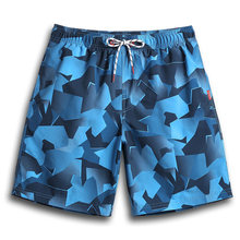 QIKERBONG Men Beach Shorts Board Boxer Trunks Shorts Men's Boardshorts Casual Quick Drying Shorts Gay Whit Lining(China)