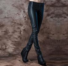 Black High high quality pencil pants leather-based girls 1 trousers slim for the ladies's pu leather-based pants excessive waist pants capris girls